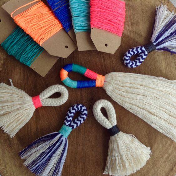cuerdas de algodón colores